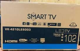 "Naya Led Tv Wholesaler price me & 17"" to 55"" & (1+1) 2 years warranty"