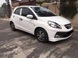 Dijual Honda BRIO E SE CKD Automatic 2015 Putih Mulus Bisa Credit