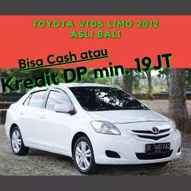 Toyota Vios Limo 2012 Asli Bali Siap Pakai Bisa Kredit DP 19jt