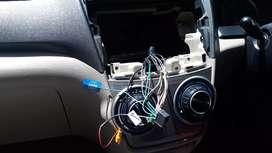 Instalasi  Audio video mobil pangilan kerumah