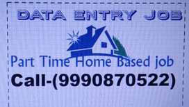 OFFLINE/Online Data Entry Job Part Time WORK ON MS.WORD 999O87O522