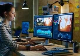 Graphic Designer / Video Editor