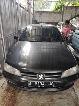 Peugeot 406 th1997 AT lemans pajak hidup siap pakai AC dingin