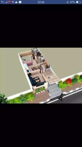 2.bhk villa project near Army Area ,Niwaru
