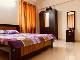 For Rent Three bedroom semi furnished apartment