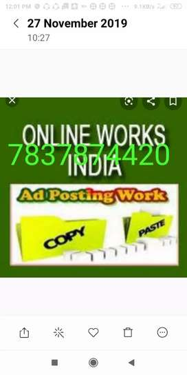 Unlimited income in online jobs