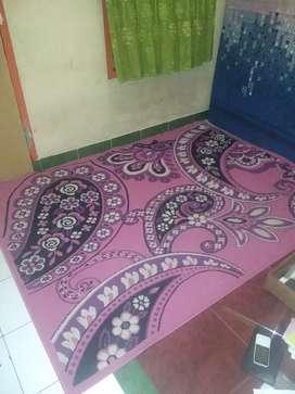 Karpet ukuran 210 x 156 harga 200rb daerah tangsel
