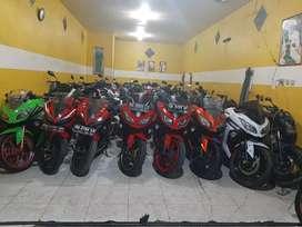 Kawasaki Ninja Z 250 cc yang melayani tukar tambah dan