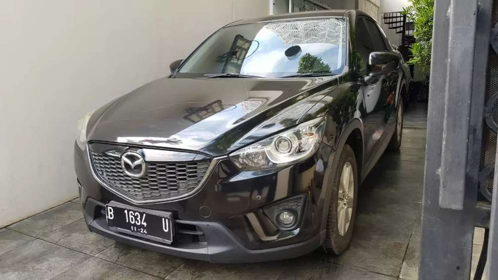 mazda cx-5 2.5 touring automatic th.2015 hitam sporty