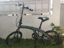 Sepeda Lipat Exotic 2026MT Hydraulic Cakep