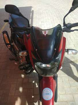 ReD Black Pulsar 150 CC, Excellent condition