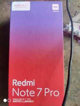 Redmi note,7 pro ,4 64 black color full conditions