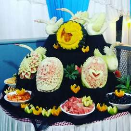 Do you want  to learn vegetable & fruit carving