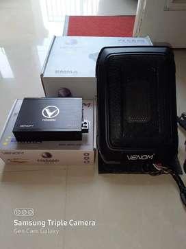 Processor Venom Pandora 3.4 + Subwoofwer VX 6.8 PB