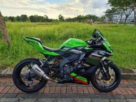Kawasaki zx25 motor viral