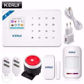 KERUI W18 WIFI GSM SMS Home Burglar Security Alarm Systems