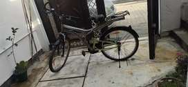 Cycle in good condition with shocker
