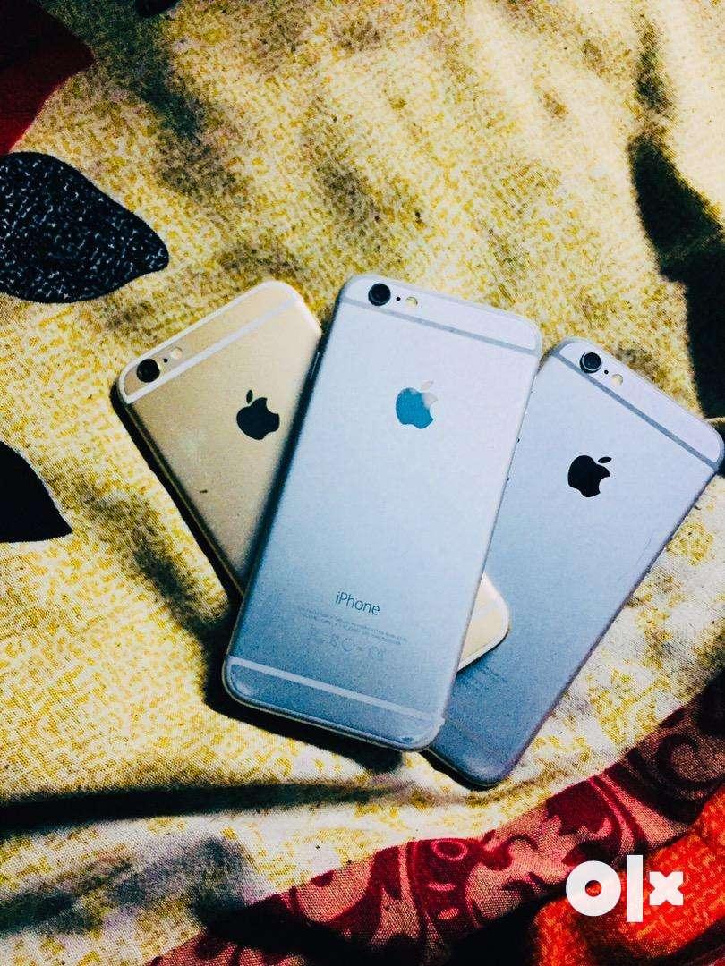 I phone 6 16 gb mint condions not a single problem three pc phonesale 0