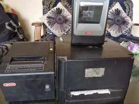 Billing machine and scanner