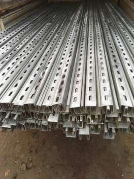 Unistrut Channels made of rolling forming machinery solar structure