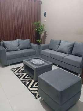Bikin sofa kekinian langsung pengrajinya