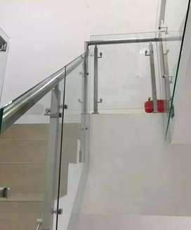 Reiling tangga dan balkon stainless #469