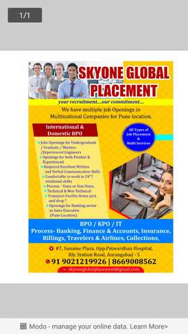Jobs Openings for Pune location