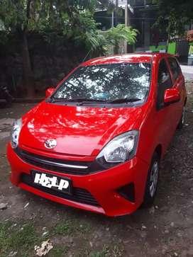 Toyota Agya 1.0 E/MT 2015 Merah plat H kota