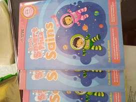 Buku paket anak Paud erlangga