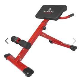 Alat fitnes indoor back extension manual