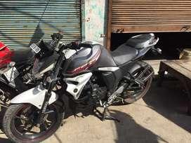 Yamaha fz s silver white clr