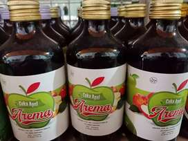 Banyak Khasiat Cuka Apel Arema. Isi 320ml
