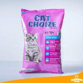 Cat Choize Kitten Tuna With Milk 1kg Makanan Anak Kucing Murah