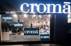 CROMA process hiring for CCE/ Back Office./ Data entry jobs