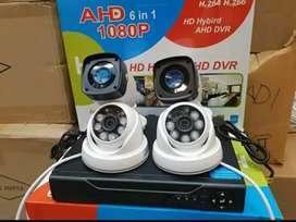 Pantau keamanan kamera CCTV 2Mp full HD Tanggerang Cibodas