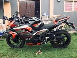 Ninja 250fi ABS 2018, Samua Masih Original