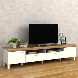 Meja TV / Rak TV panjang 2 meter 10 cm (Chat Whatsapp)