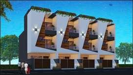 Brand new 3 BHK, G+2, house behind DMart Nipania. Inhouse car parking