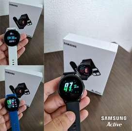 Free Home Delivery - Samsung Active Smart Watch In Fiber Belt, COD.