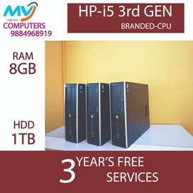 HP_cpu_i5 3rd gen%8gb RAM#1TB HDD@3yrs warranty$2gb graphic@free@