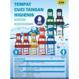 Tempat Cuci Tangan Sistem Knockdown Wastafel Portable