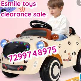 KIDS DRIVING ELECTRIC TOY CAR BIKE JEEP AT CLEARANCE SALE