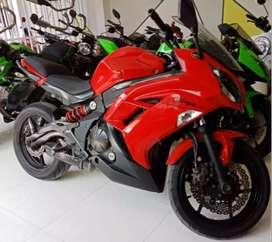 Kawasaki ninja 650 /ER6F bagus..pajak baru