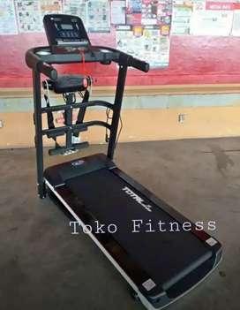 Alat fitness treadmill tl 607 elektrik