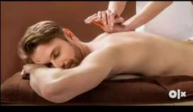 Only female Body massage part time job