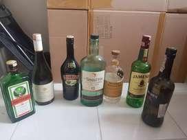 Botol Minuman Import Kosong