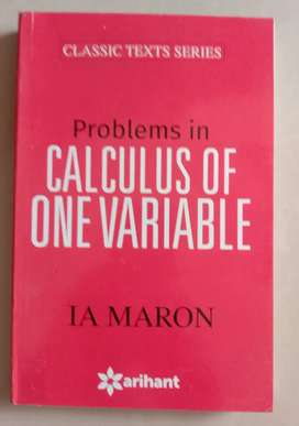 JEE Calculus of one variable IA MARON