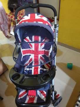 Stroller pliko motif bendera amerika