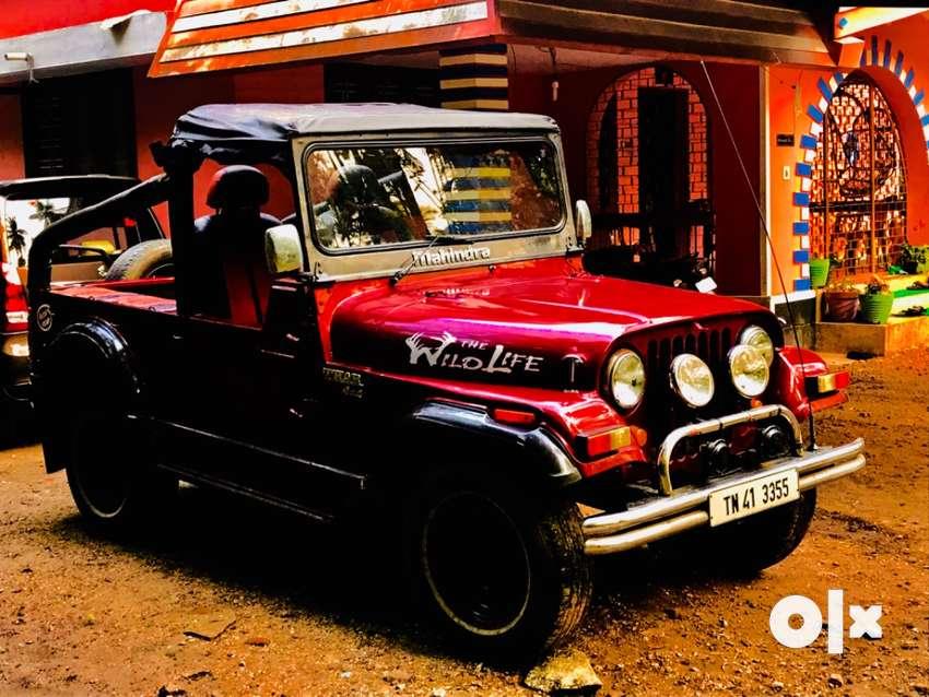 Mahindra 540 open jeep 0