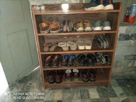 It is cupboard for shoes.